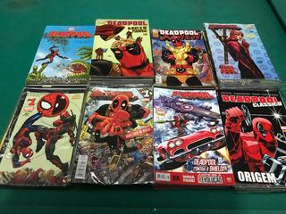 Coleção Deadpool Quadrinhos Hq