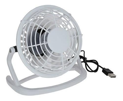 Mini Ventilador De Escritorio Con Conexión Usb.
