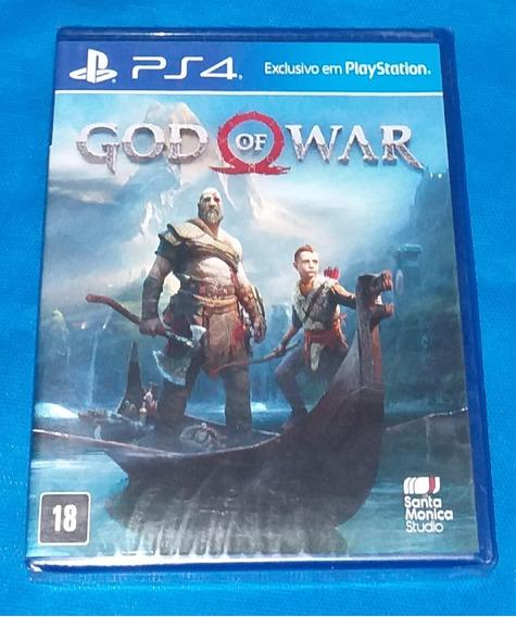 God Of War 4 Ps4 Midia Fisica
