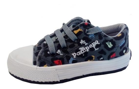 Zapatillas Lona Niños Marca Pampero Modelo Ferchu