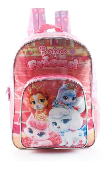 Mochila Espalda Disney Princesas Palace Pets - Mundo Manias
