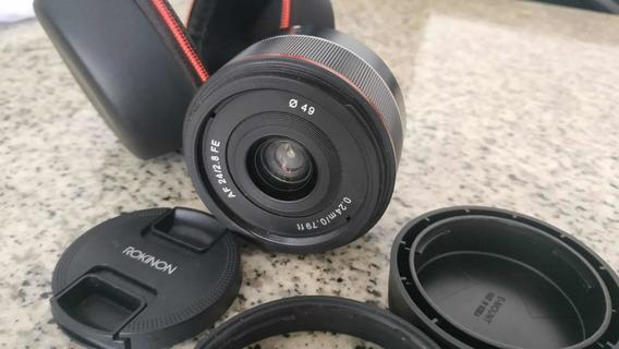 Rokinon 24mm F/2.8 Fe Wide Auto Focus Lente P/ Sony E-mount