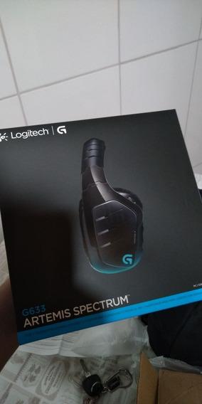 Headset Logitech G633 Com Fio