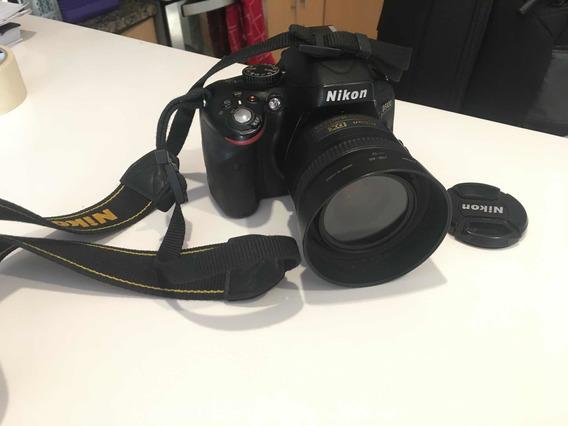 Nikon 5100 + Nikon 35mm 1.8 + Nikon 18-55 + Bolso Lowepro