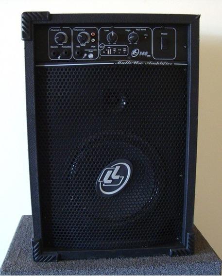 Caixa De Som Acústica Amplificada Multiuso Ll140 Ll Áudio