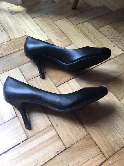 Zapatos Vizzano 38 Negros Fiesta