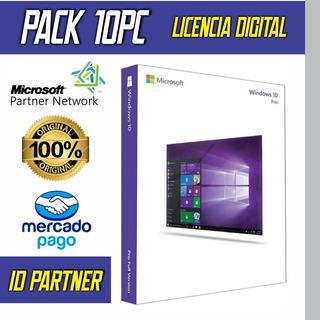 Win10 7 O 8.1 Original Página Oficial Retail Digital 1pc