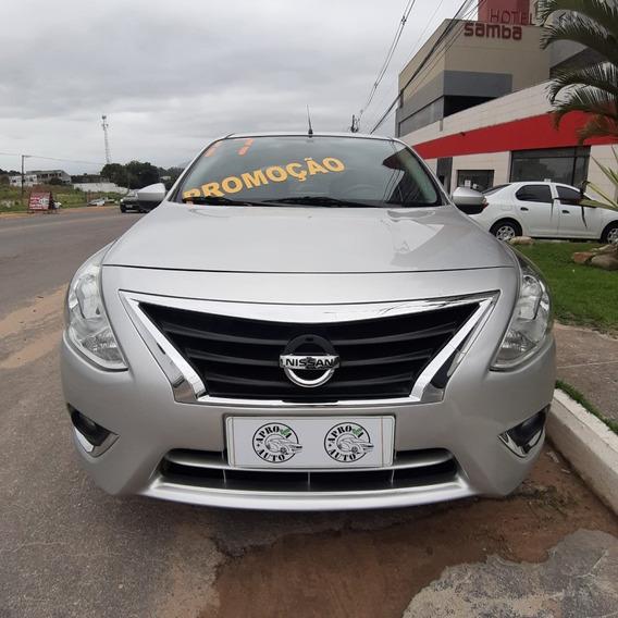 Nissan Versa Unique + Gnv 2018