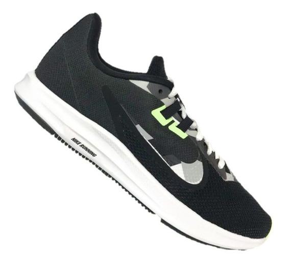 Tênis Donwshifter 9 Masculino Nike Black/white-particlegrey