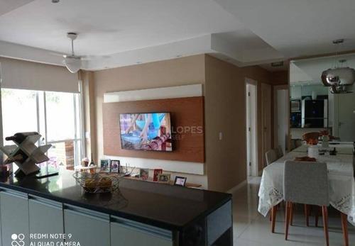 Apartamento Com 3 Quartos, 73 M² Por R$ 340.000 - Maria Paula - São Gonçalo/rj - Ap46536