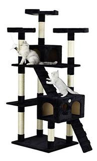 Árbol Casa Condómino Gato Negra 1.82 Mts Msi