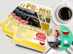 Apostila Pc-mg - Escrivão E Polícia - Completa 2018