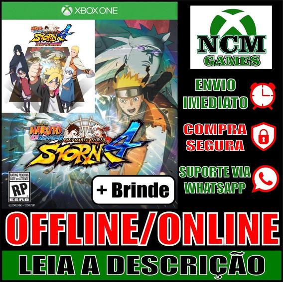 Naruto S: U Ninja Storm 4 + Road To Boruto Xbox One + Brinde