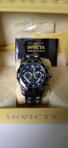Reloj Invicta Pro Diver Cronografo Black