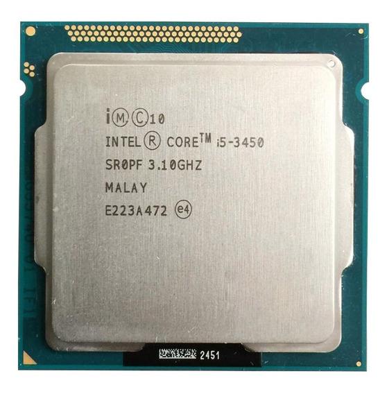 Processador Intel Core I5 3450 Lga1155 3.10 - 3.50ghz 6mb
