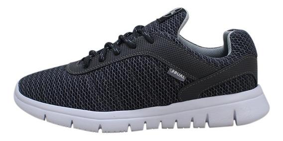 Tênis Dual Footwear Lvre Cinza Original Promoção