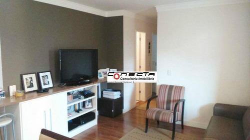 Imagem 1 de 8 de Apartamento Residencial À Venda, Jardim Santa Genebra, Campinas - Ap0115. - Ap0115
