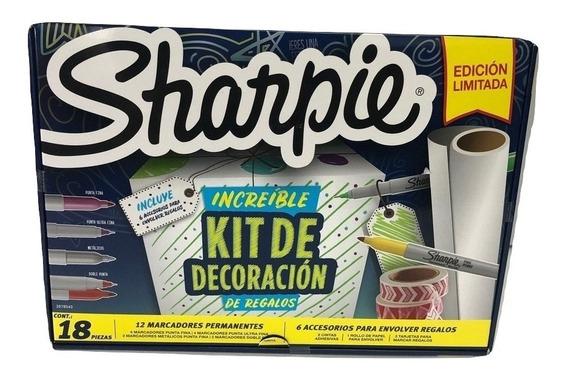 Marcadores Sharpie Kit De Decoración X 18 Piezas Ed Limitada