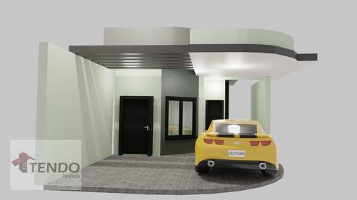 Imagem 1 de 15 de Casa Com 2 Dormitórios À Venda, 58 M² Por R$ 380.000,00 - Jardim Belo Horizonte - Indaiatuba/sp - Ca0557