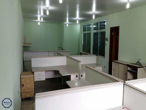 Conjunto Comercial Em Santos Bairro Centro - A6438