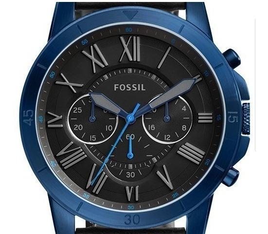 Reloj Fossil Para Hombre Azul / Negro