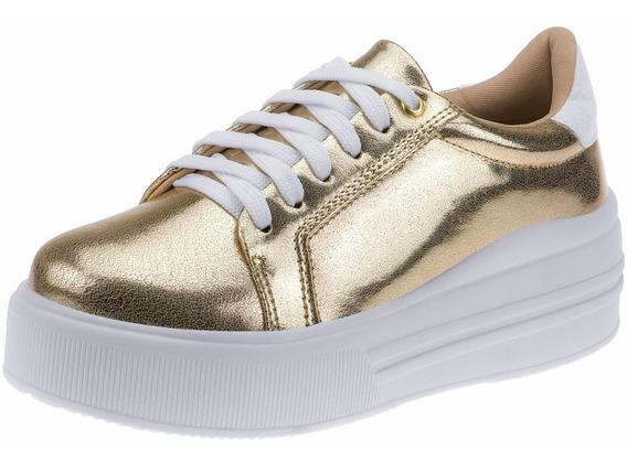Tenis Feminino Casual Plataforma Anabela Sapatos Conforto G2