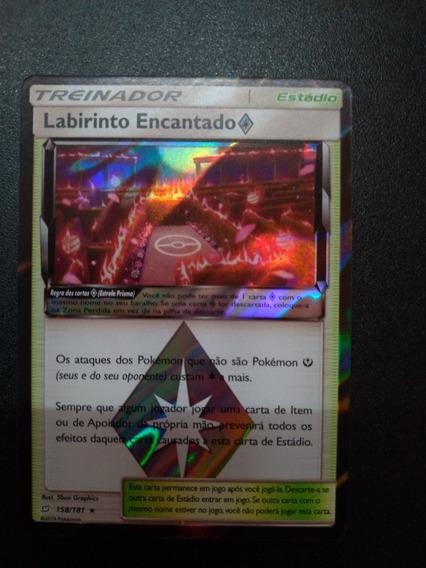 Card Pokemon Labirinto Encantado Estrela Prisma