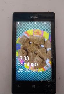 Celular Nokia 520.2 Sucata Ligando C/defeito Ref: J44