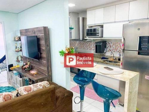 Apartamento Com 2 Dormitórios À Venda- José Menino - Santos/sp - Ap29428
