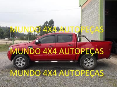 Sucata Ranger Xlt 2.5 2015 4x2 Flex Com Motor E Cambio Peças
