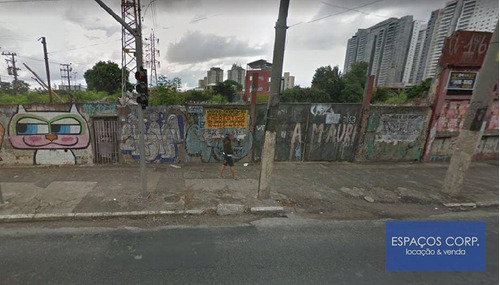 Terreno À Venda, 480m² - Tatuapé - São Paulo/sp - Te0006