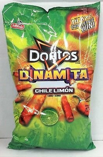 Doritos Dinamita Chile Limon Chips De Tortilla De Maíz 11.2