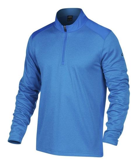 Sudadera Hombre Oakley Casual Cuello Alto Azul Ozono Talla M