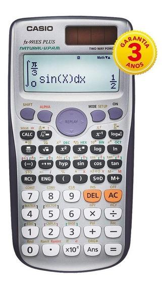 Calculadora Científica Casio Fx-991es Es Plus Gar. 3 Anos