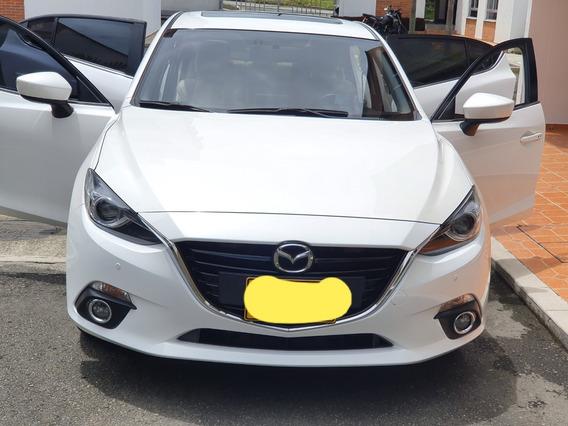 Mazda 3 Grand Touring 2015 Blanco 5 Puertas.