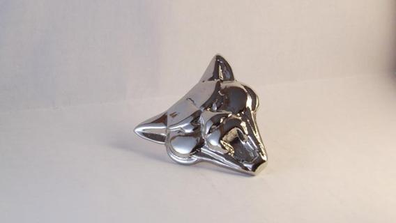 Cara Da Puma Emblema Do Capú Em Metal Cromado Capo
