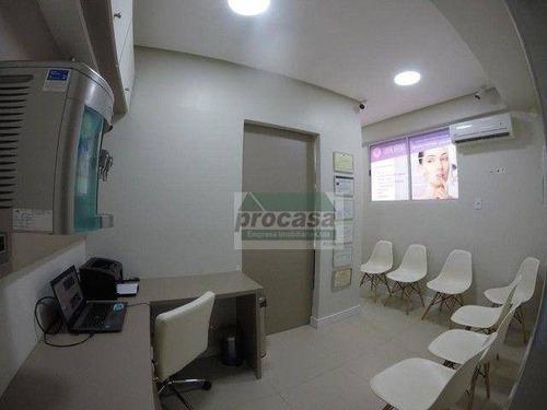 Imagem 1 de 5 de Ótima Sala À Venda, Em Edifício Comercial, 26 M² Por R$ 110.000 - Centro - Manaus/am - Sa0421