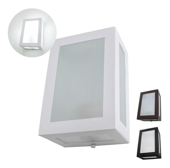 15x Arandela 5 Vidros Alumínio Uso Externo E Interno Ms632