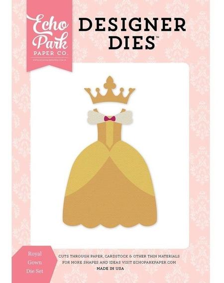 Troqueladoras De Princesa Royal Gown Echo Park Paper