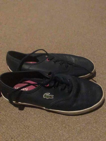 Zapatillas Lacoste De Mujer Originales