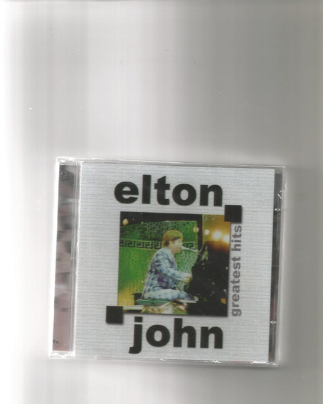 Cd Elton John - Greatest Hits (novo-lacrado)