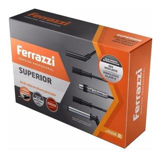 Cables Ferrazzi + Bujías Champion Fiat Uno Way 1.4 Evo