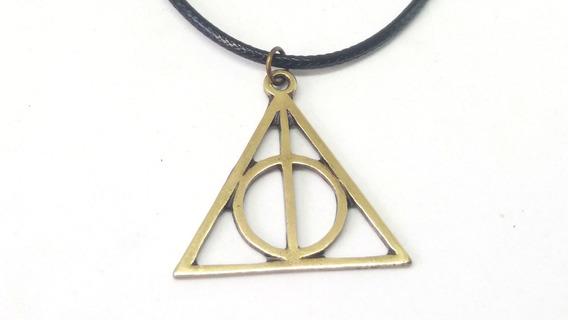 Colar Harry Potter Relíquias Da Morte