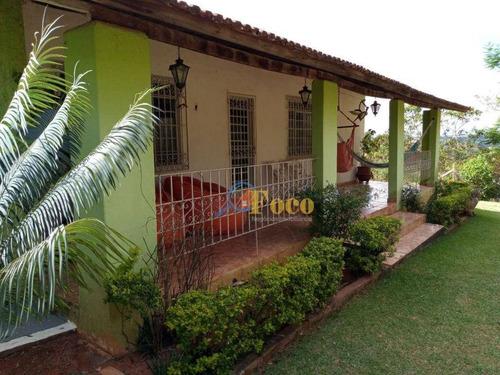 Imagem 1 de 23 de Chácara Com 4 Dormitórios À Venda, 1200 M² Por R$ 690.000,00 - Condomínio Sítio Da Moenda - Itatiba/sp - Ch0230