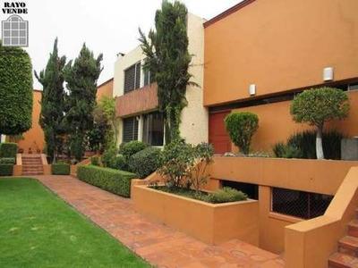 Condominio Horizontal En Tlalpan Junto A Zona De Hospitales
