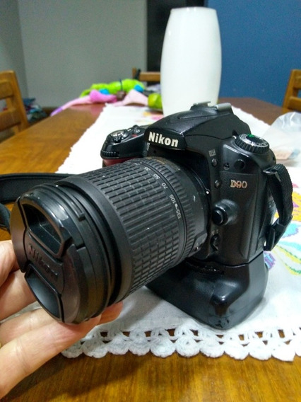 Nikon D-90 Kit Completo