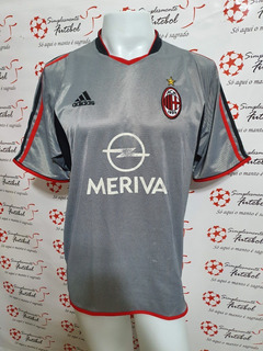 Camisa Milan 3rd 03-04 Maldini 3 Importada
