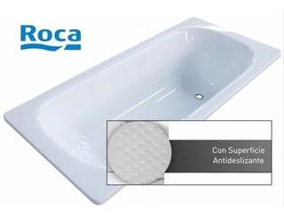Bañera Roca Sacha Enlozada Antideslizante 170 X 70 Blanca