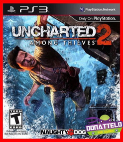 Uncharted 2 Ps3 Psn Among Thieves Legenda Portugues