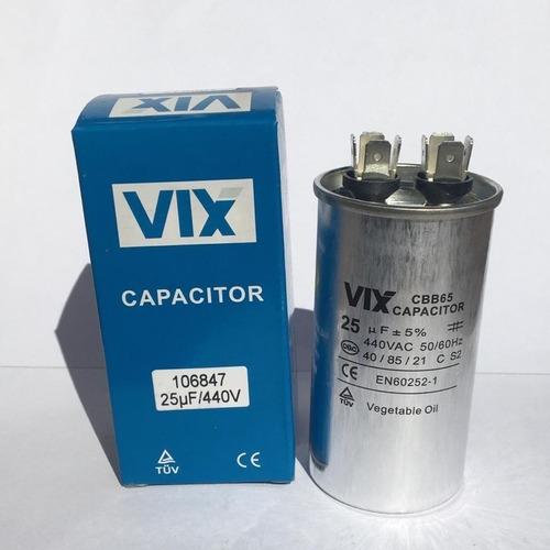 Capacitor Permanente 25uf | 440v Vix